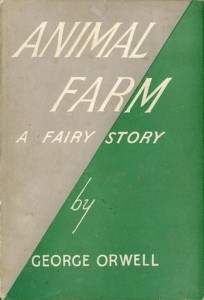 An image of the book Animal Farm by George Orwell, representing the similarities between AdBlock and censorship