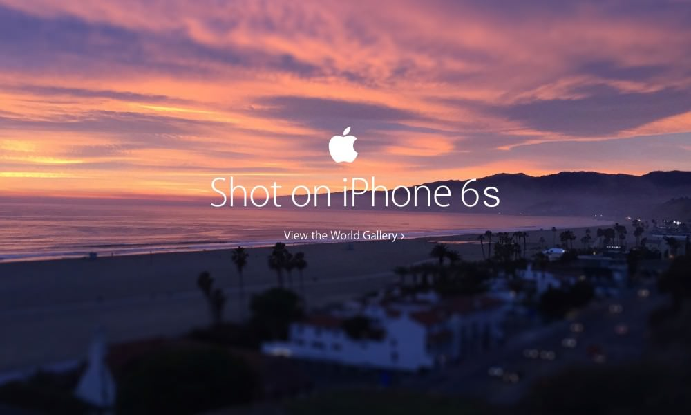 A picture showing a beautiful beach shot from an iPhone 6 as part of their brand storytelling