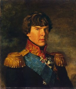 """Don't think that a painting of Benedict Cumberbacth in Victorian clothing will convince Google that he was once the king of France."""