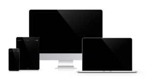 An image of a range of different Apple devices